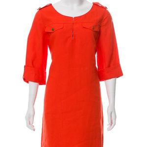 Tory Burch linen tunic dress